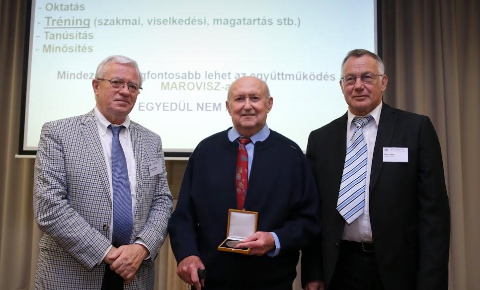 2017-ben a MAROVISZ díjat Dr. Somogyi György kapta